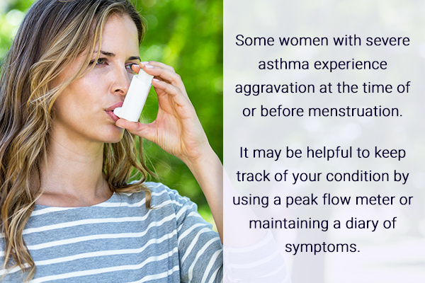 asthma during menstrual periods