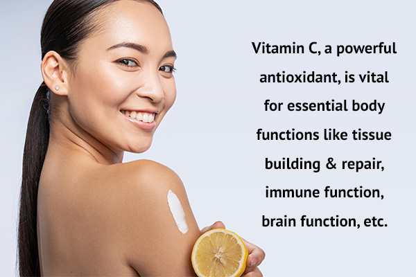 functions of vitamin c in the body
