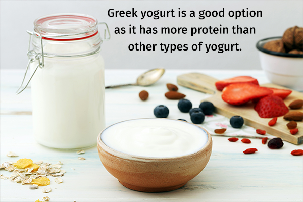 tips to consider when including greek yogurt in your diet