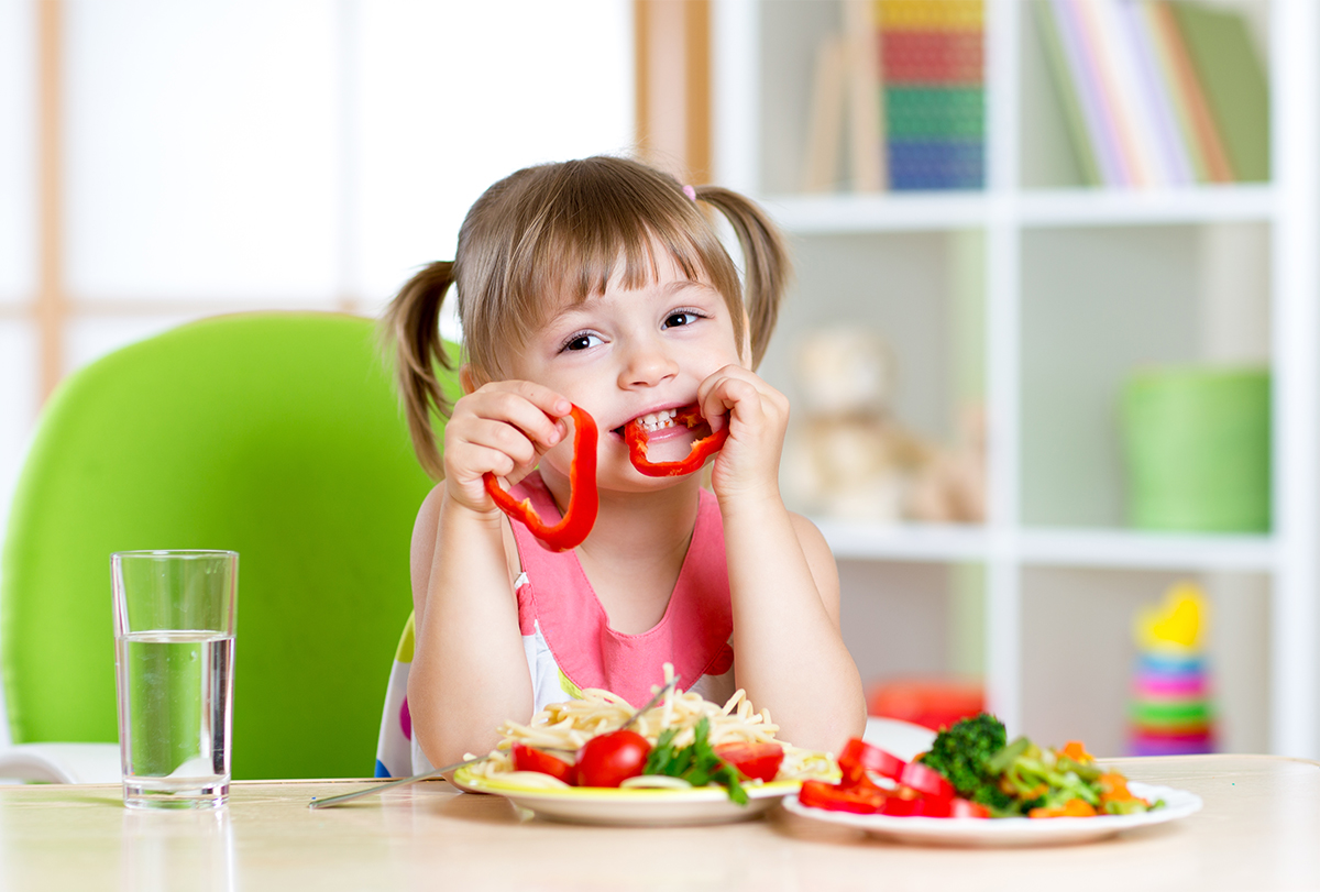 vegetarian meal plans for children