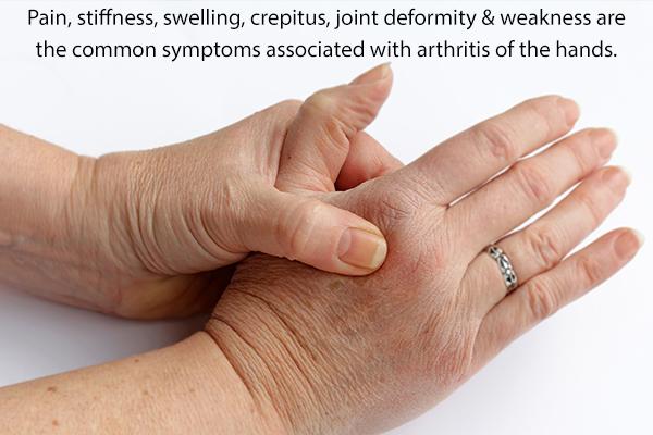 symptoms of hand arthritis
