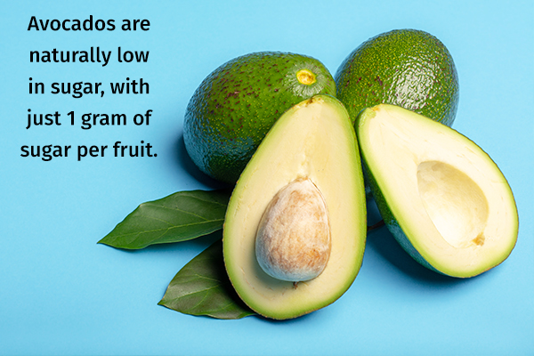 avocados are a suitable option for a diabetic diet