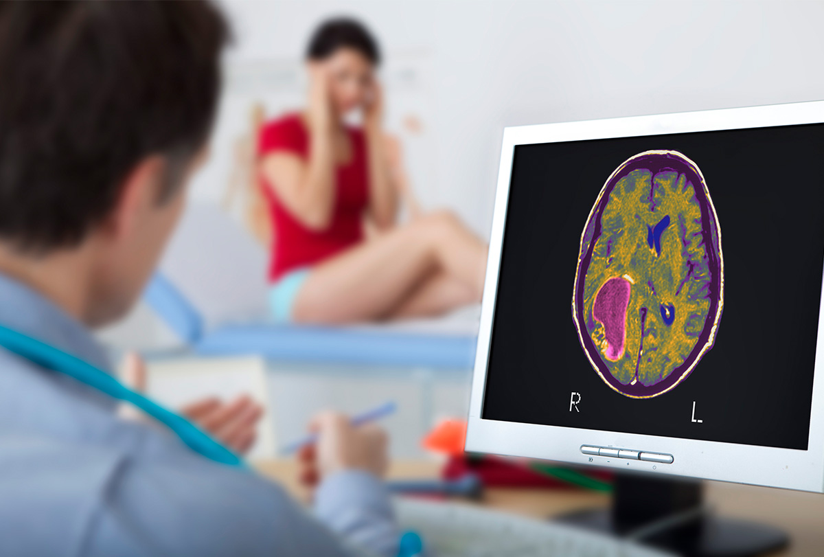 tryst with brain tumor