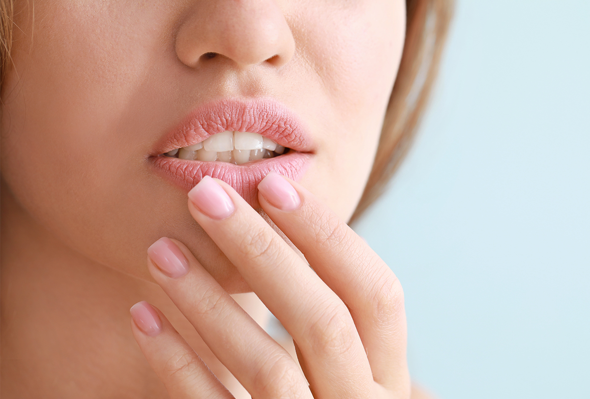 treating chapped lips