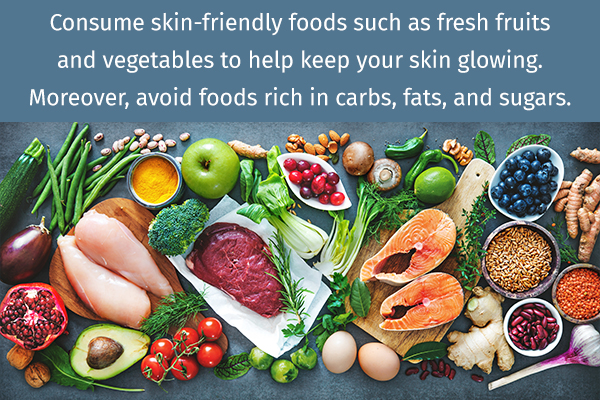 consume skin-friendly foods for ensuring skin health