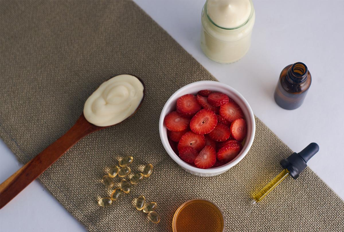 diy strawberry face mask recipes