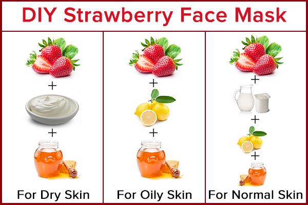 diy homemade strawberry face mask recipes