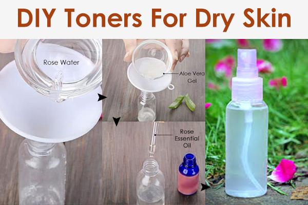 diy toners for dry skin