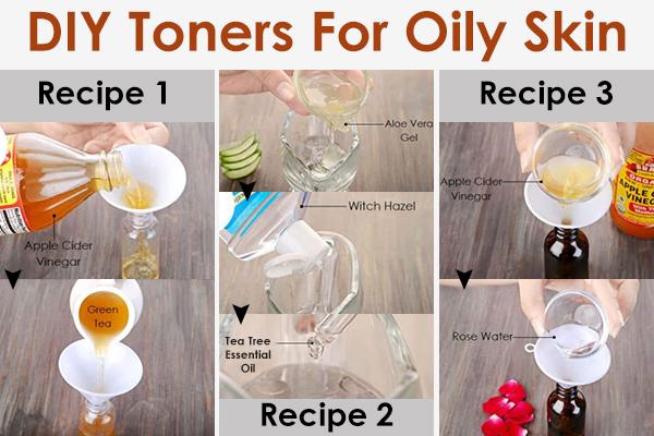 diy toners for oily skin type