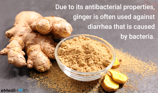 ginger can help relieve gastrointestinal distress