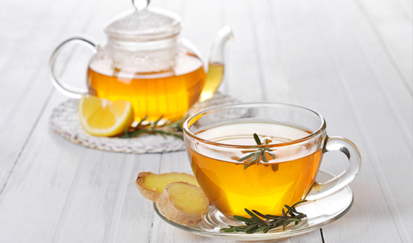 drink ginger tea every day