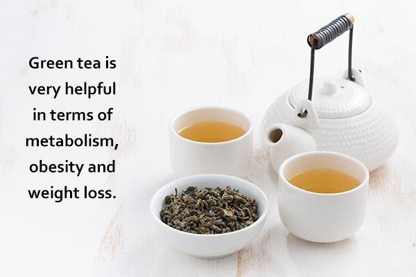 green tea is effective in boosting metabolism