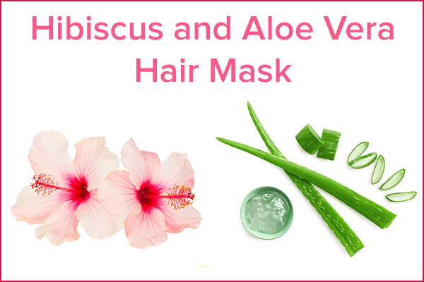 diy hibiscus and aloe vera hair mask recipe