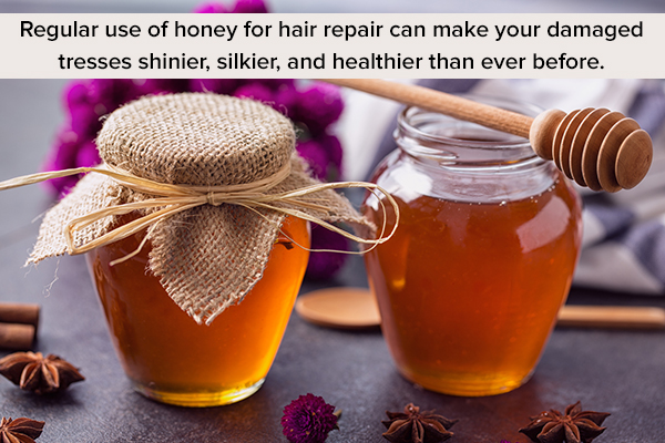honey usage can help ensure smooth and healthy hair