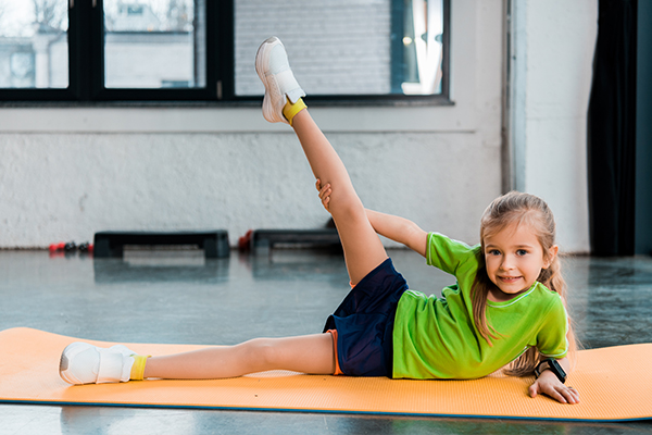 regular exercising can help boost immunity in children