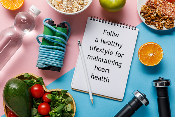 Healthy lifestyle for a healthy heart