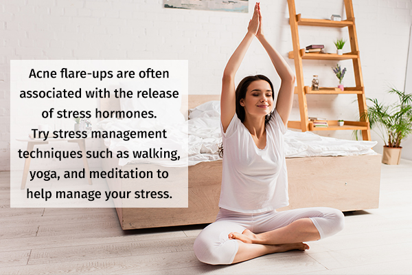 stress management is essential for acne prevention