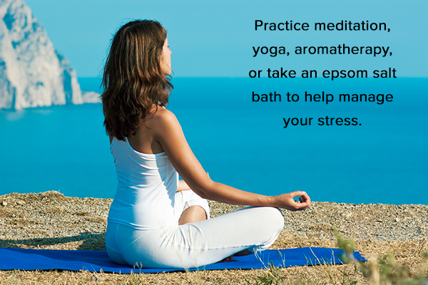 stress management is essential for healthy skin