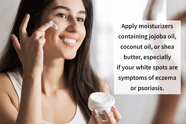 moisturizers can help prevent skin disorders