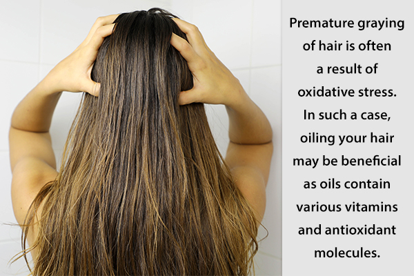Oiling your hair daily