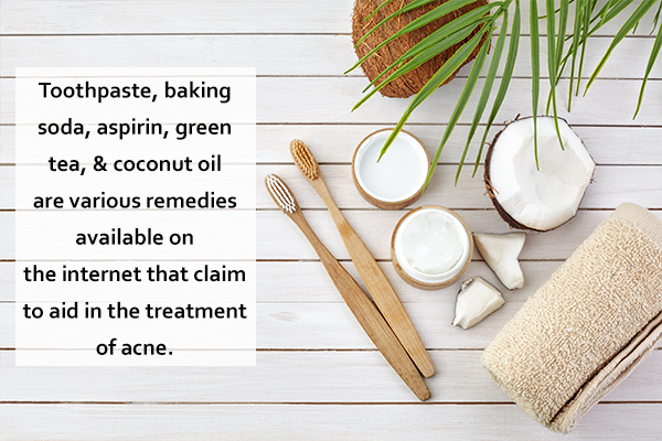 other remedies for acne