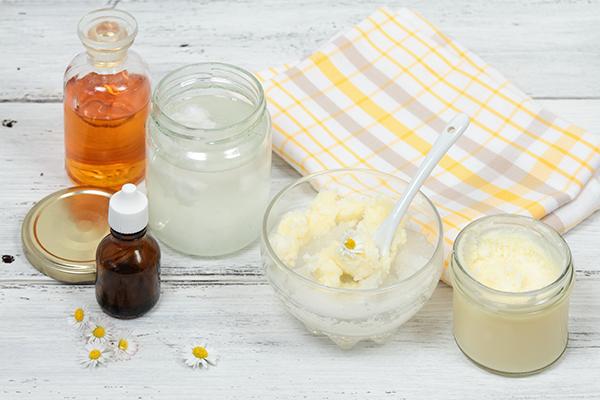 certain plant oils possesses skin healing properties