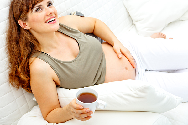 herbal teas are beneficial in pregnancy and lactation