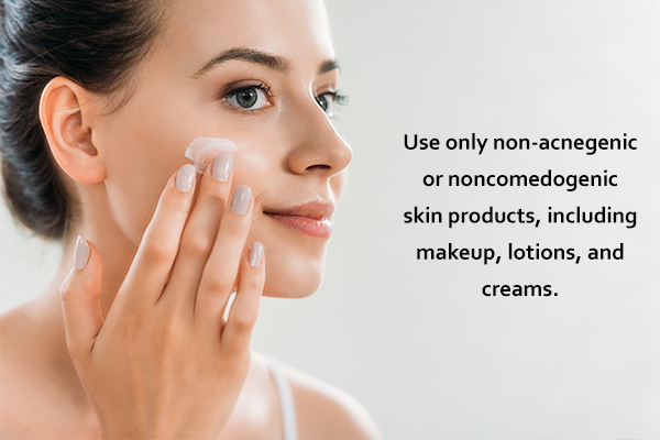 self-care for reduce acne