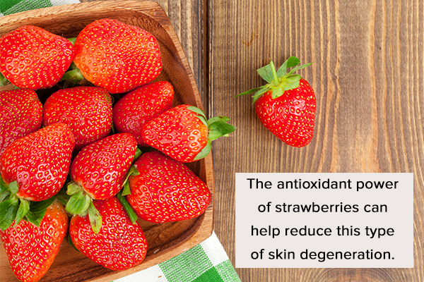 strawberries can help fight free radicals