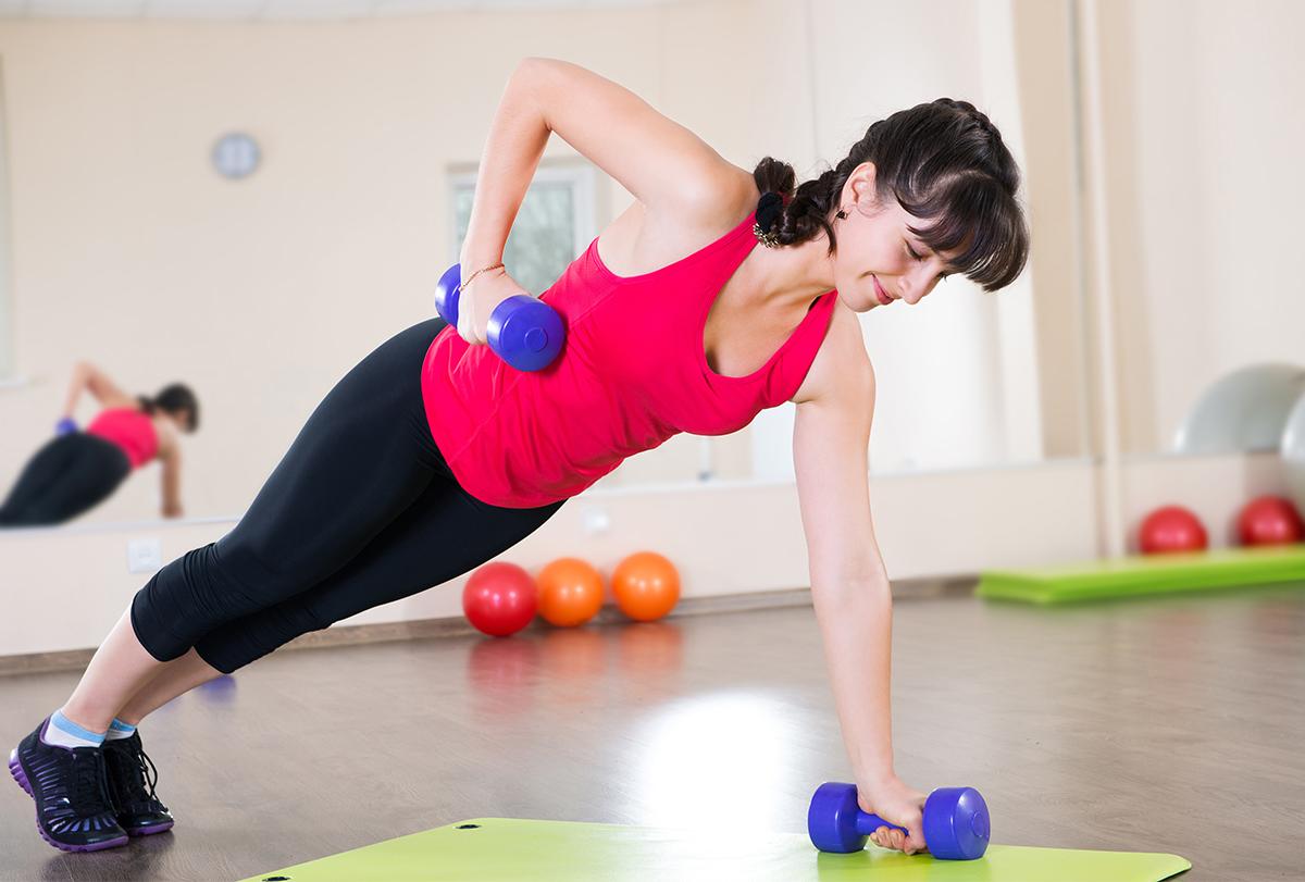 strength and cardio training