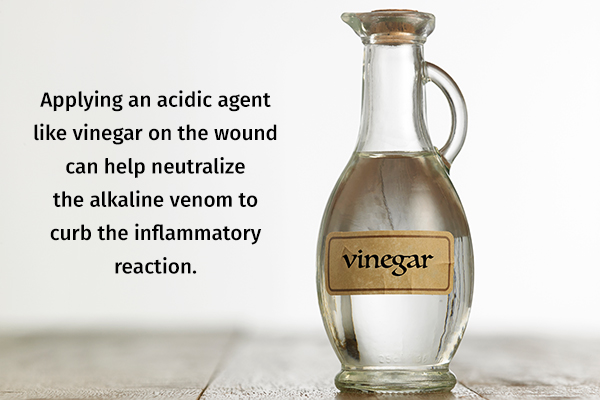 topical application of vinegar can help reduce inflammation