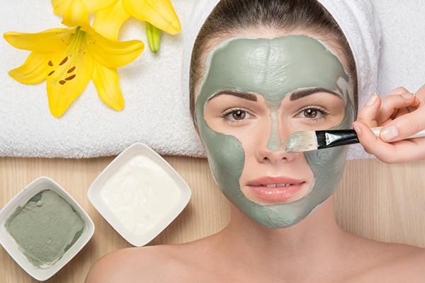 clay masks can help remove impurities from skin pores