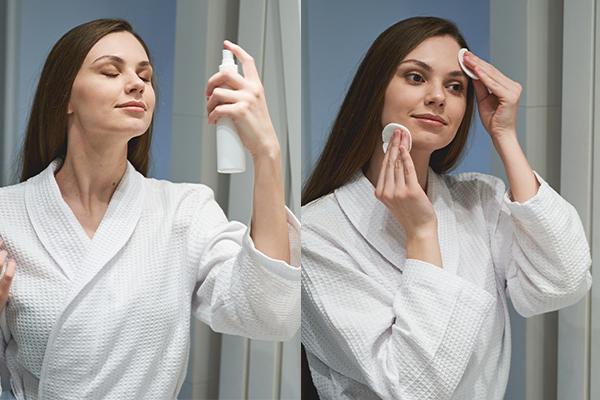 proper way to use diy skin toners