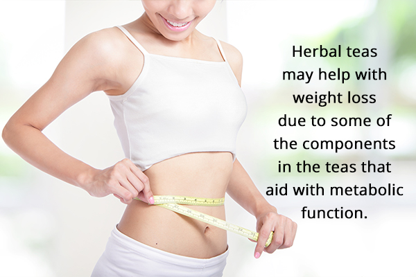 herbal teas may aid with weight loss