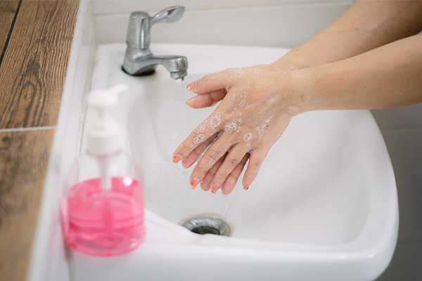 can constant handwashing prove harsh on the skin?