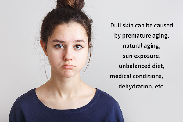factors that can cause a dull skin complexion