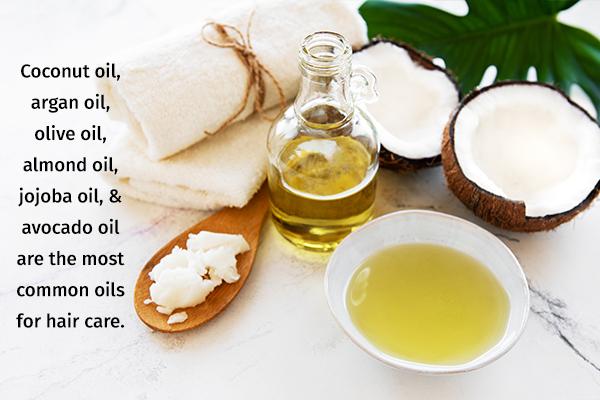common oils for optimum hair care