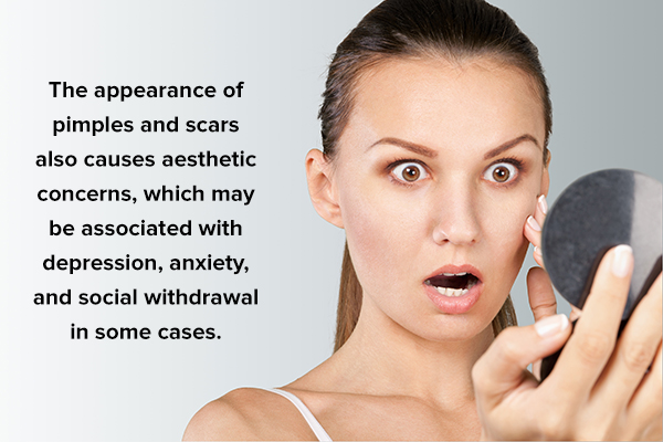 complications of untreated pimples