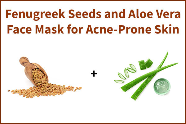 fenugreek seeds and aloe vera face mask