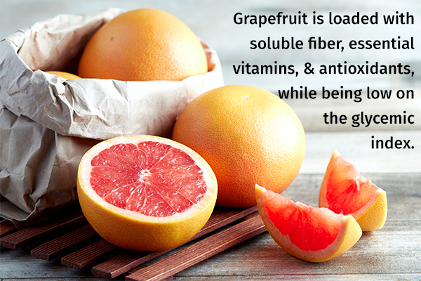 grapefruit can help with diabetes control