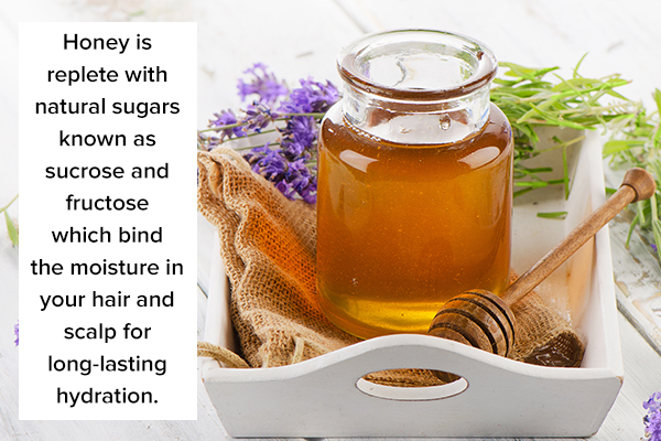 honey can prove beneficial in hair masks