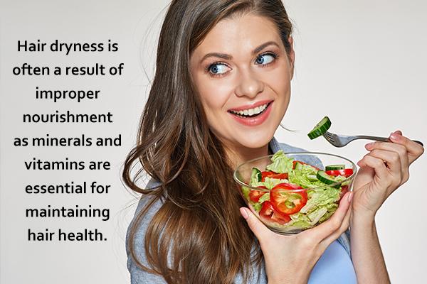 eat healthy to maintain hair health