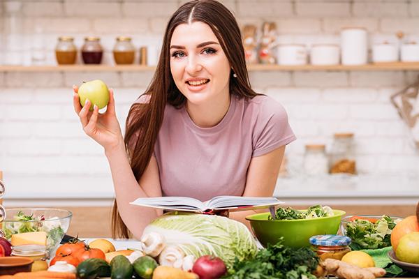 a well-balanced diet can help ensure hair health