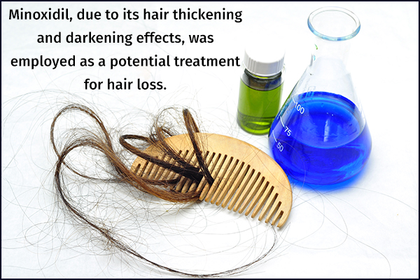 minoxidil as a potential treatment for hair loss
