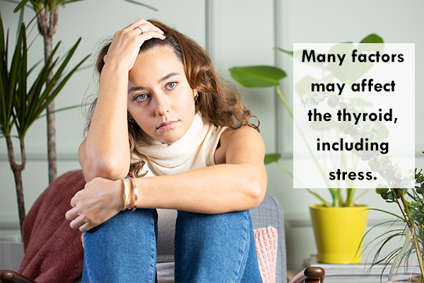 excessive stress can instigate thyroid problems