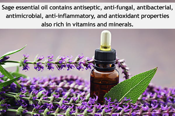 hair benefits of sage oil