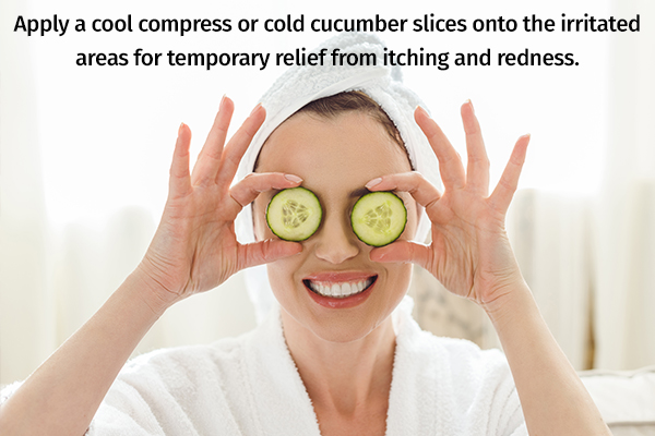 self-care measures to manage skin peeling