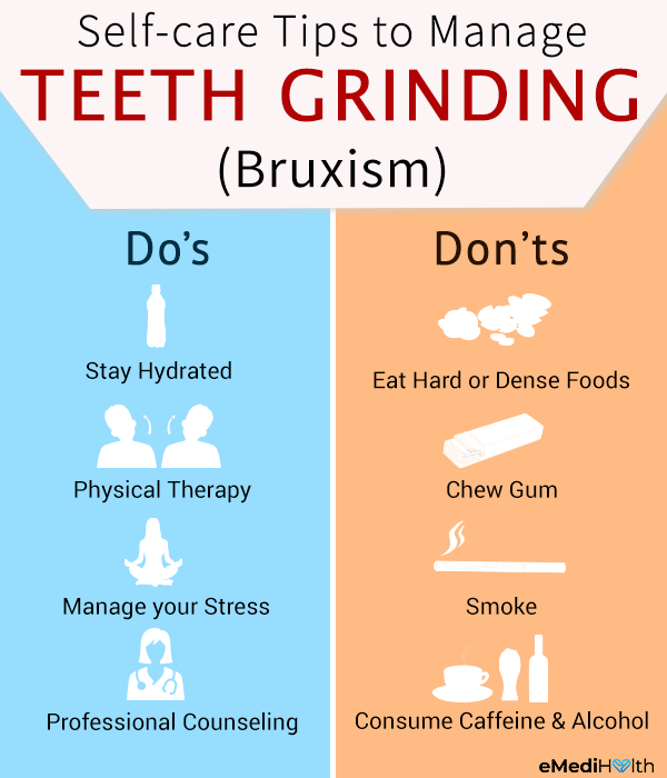 self-care tips for managing teeth grinding (bruxism)