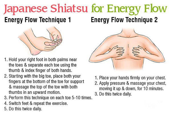 japanese shiatsu massage for energy flow