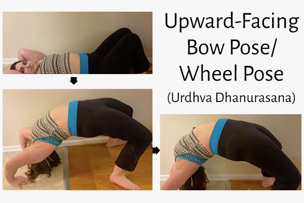 upward-facing bow pose/wheel pose